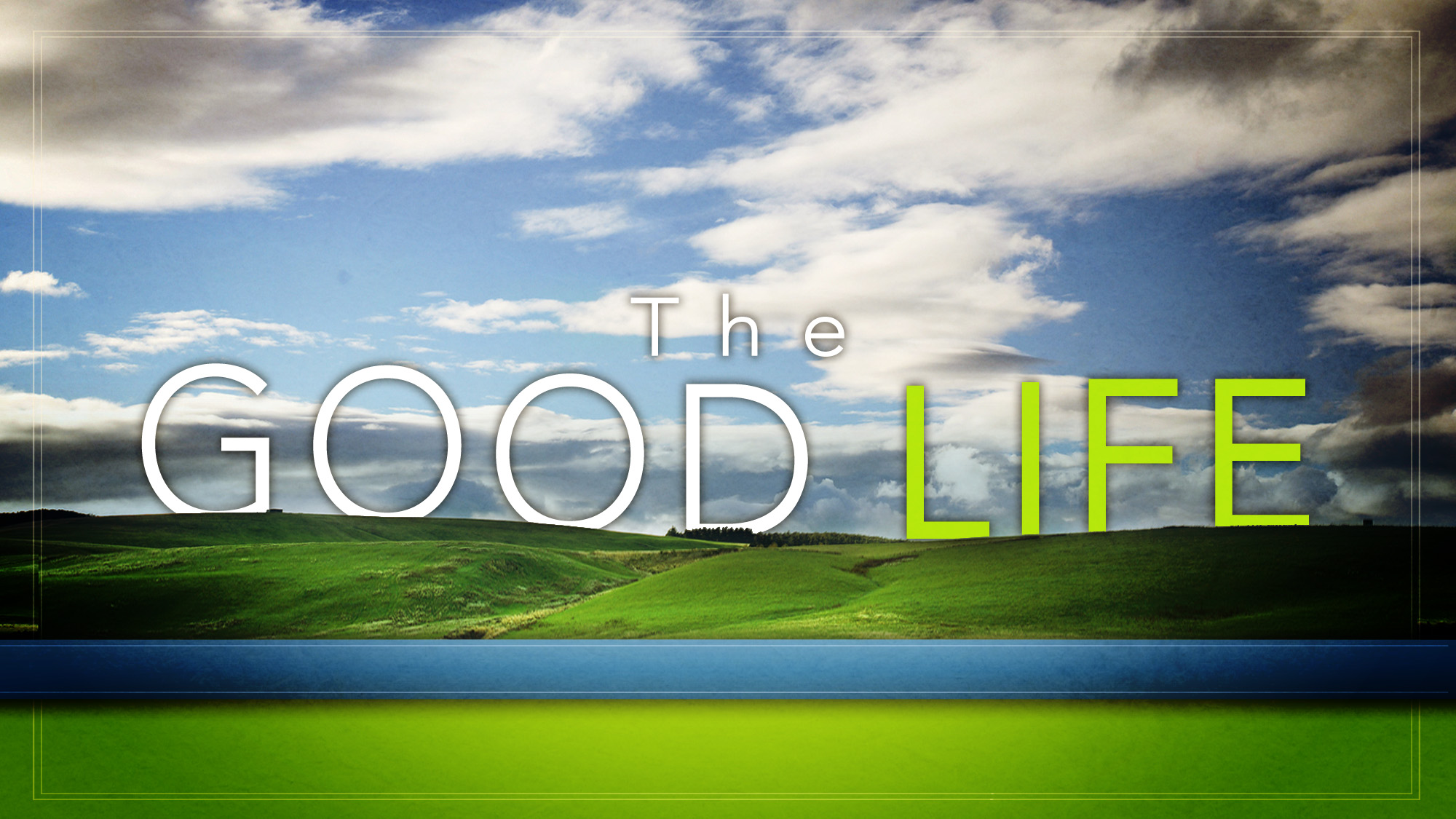 "what is the good life and A lot has been said and written about the ""good life"", and with some 73 billion people on this planet, there are quite possibly as many opinions on what it constitutes if i have learned one thing in 36 years, it is the fact that ""good"" is a very subjective word everyone has a different ."